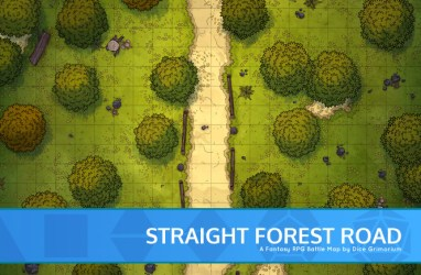 road forest map straight dnd battle roll20 banner october always week