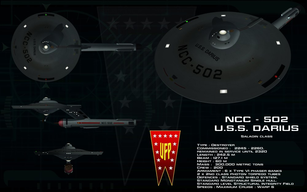 'U.S.S. Darius' by unusualsuspex on DeviantArt