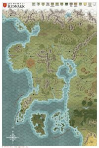 World of Redmark Map
