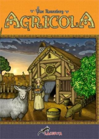 Pudełko do gry Agricola
