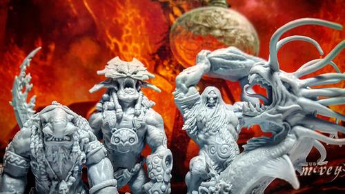 Potwory z gry Blood Rage
