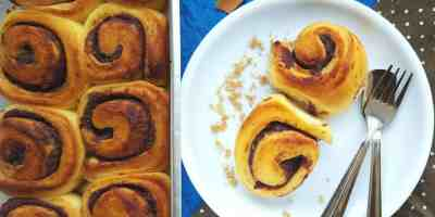 Eggless-fresh-fig-honey-cinnamon-rolls