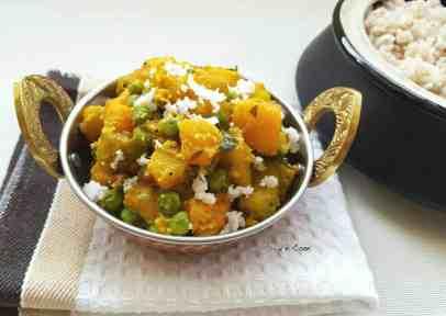 pumpkin-peas-dry-curry-1