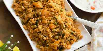 Aloo-methi-rice