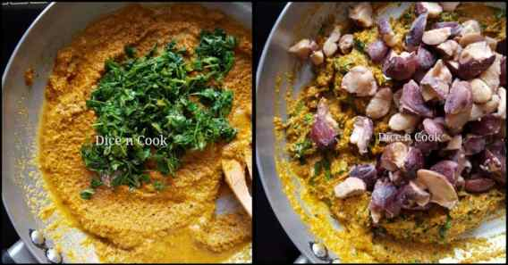 Jackfruit-seed-methi-curry