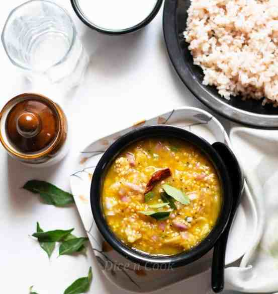 Udupi-style-Roasted-eggplant-mango-gojju