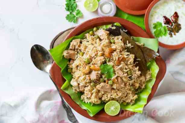 Raw or tender jackfruit Biryani – Learn to make one pot meal Kathal biryani