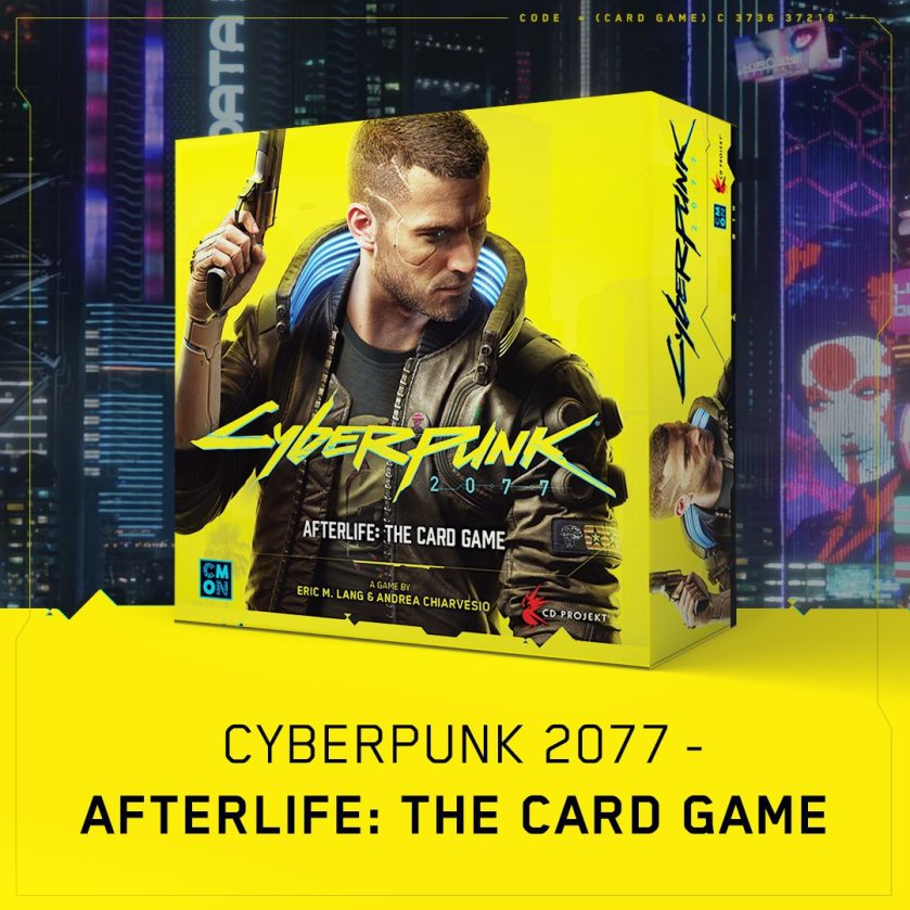 cyberpunk 2077 afterlife the card game