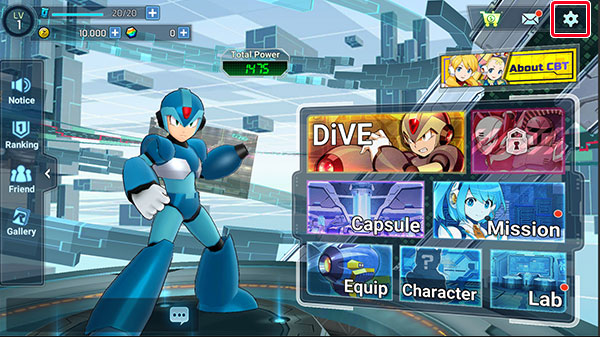 mega man x dive closed beta