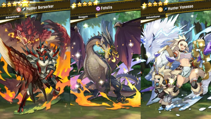 Dragalia Lost S Monster Hunter Collab Primal Crisis Is Now Live