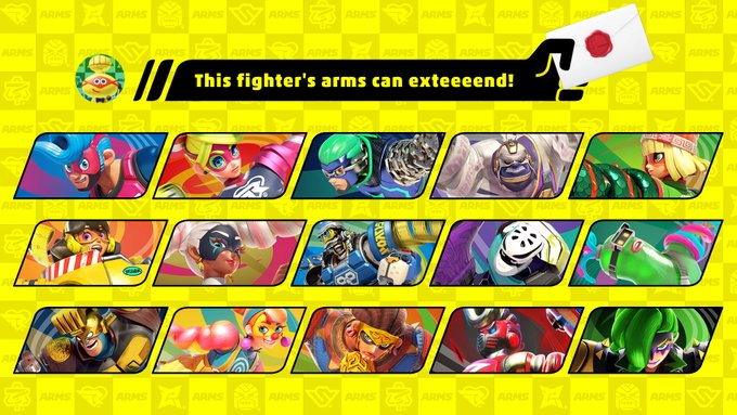 ARMS Smash Bros Ultimate