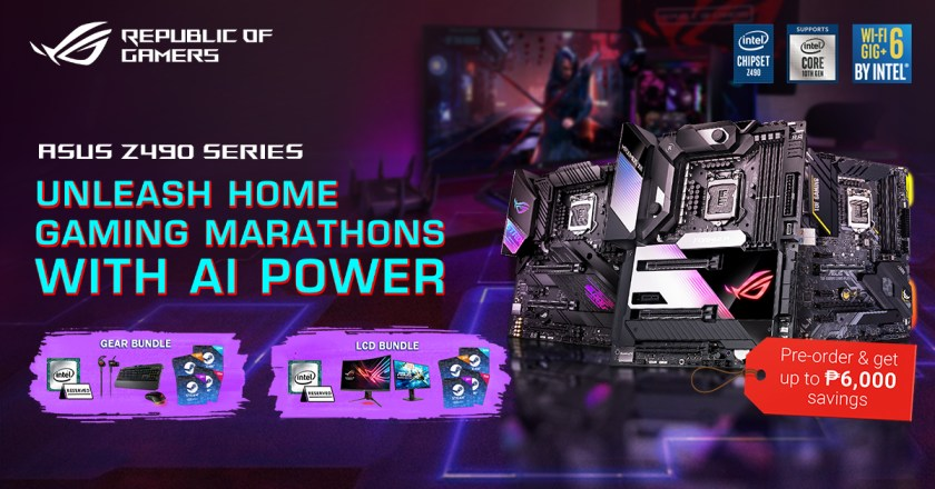 asus z490 gaming motherboard pre-order