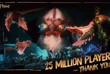 Sea of Thieves 25 million
