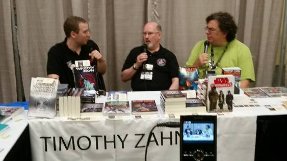 Interviewing famous author Timothy Zahn