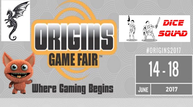 Dice Squad Origins Game Fair 2017 Promo 2