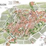 """Saint-Emilion trên """"những con đường rượu vang"""" Pháp"""