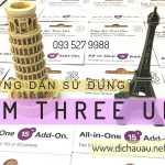 Hướng dẫn sử dụng sim Three UK khi đi du lịch châu Âu
