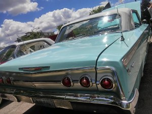 Antique Autos - 1963 Chevy Impala. (c) 2017, Brandi Andrews. All Rights Reserved.