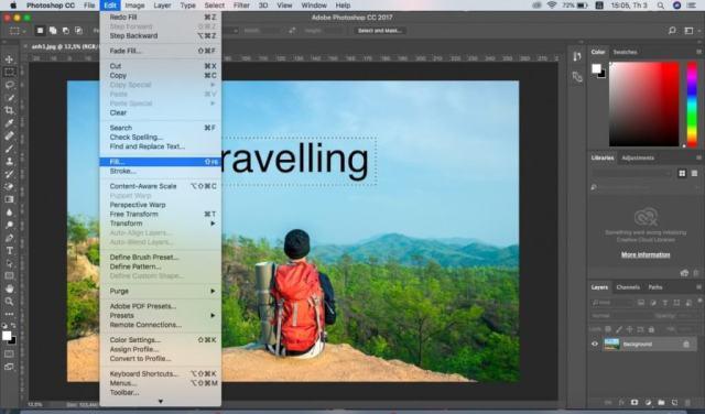 Xoa Chu 2 Dịch Vụ Chỉnh Sửa Ảnh Photoshop