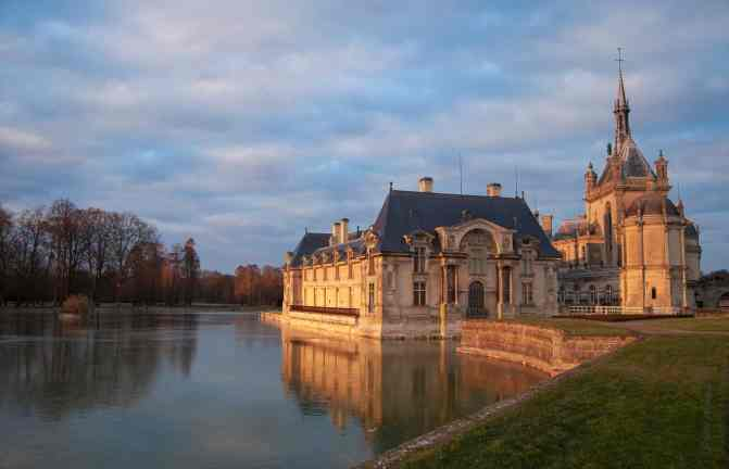 Le château de Chantilly - France