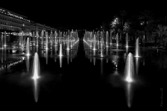 jeux d'eau et de lumière