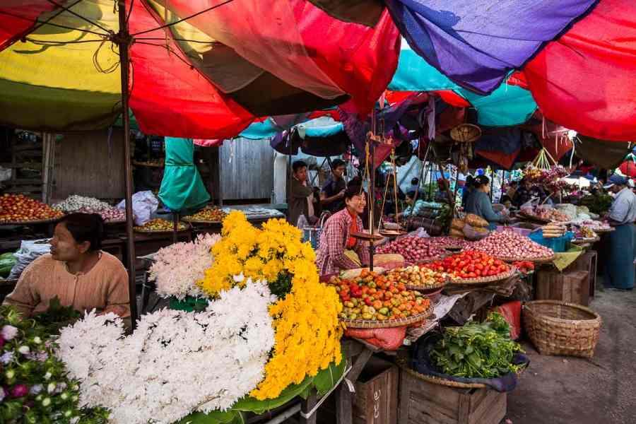 Marché de Sagaing