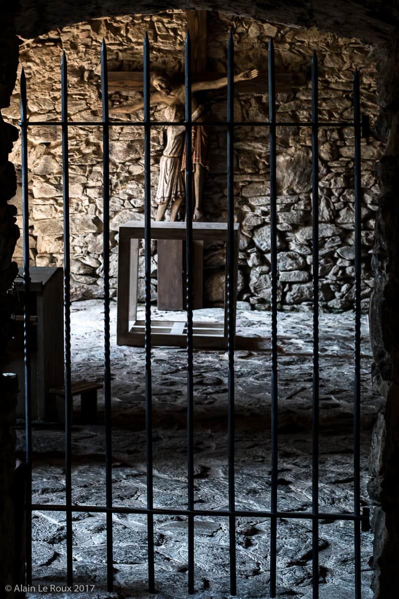 La chapelle d'adoration
