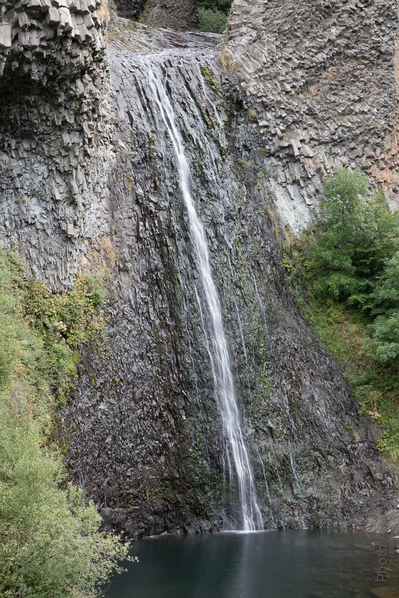 Une cascade qui doit être impressionante lorsqu'il y a de l'eau en abondance