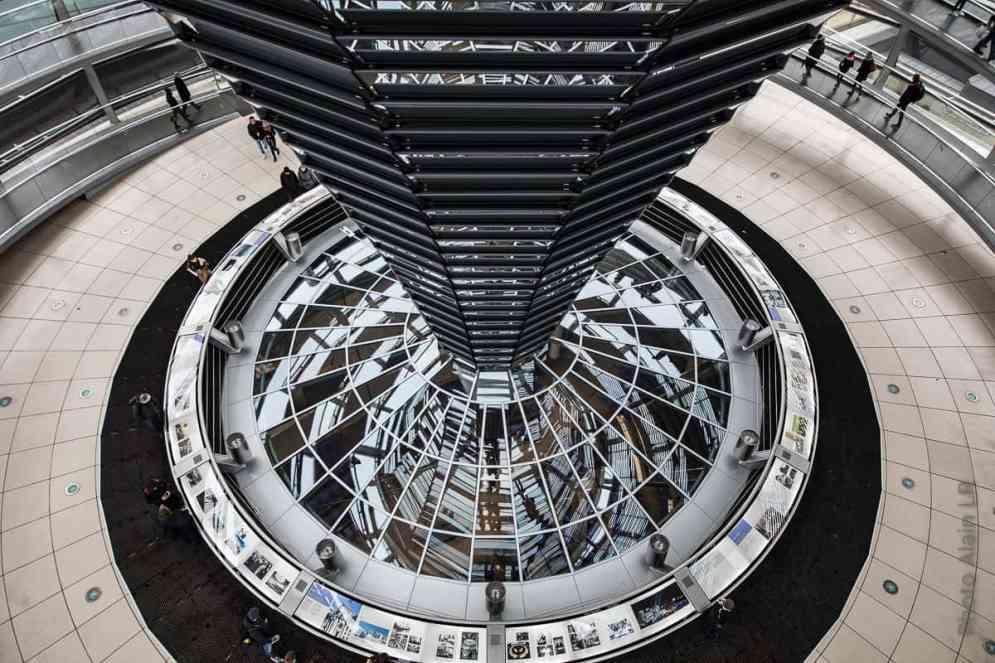Coupole du Reichstag à Berlin