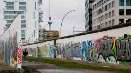 A Berlin, l'East Side Gallery