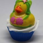 Mermaid ducky soap cupcake