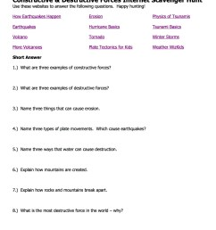 Constructive Forces Worksheet   Printable Worksheets and Activities for  Teachers [ 1650 x 1275 Pixel ]