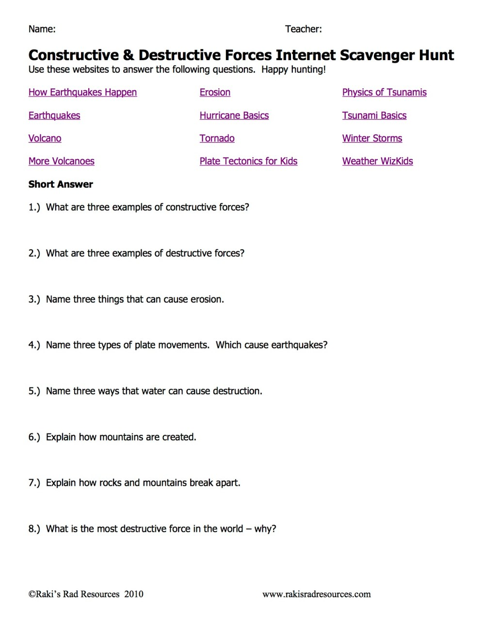 medium resolution of Constructive Forces Worksheet   Printable Worksheets and Activities for  Teachers