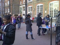 The Waffles were delicious - and we had lots of stalls outside too