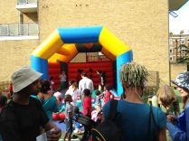 Bouncy Castle was very popular