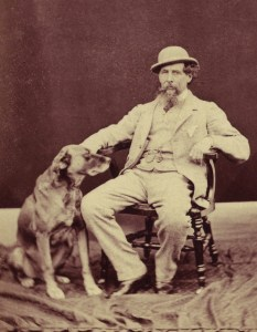 Charles Dickens, dog