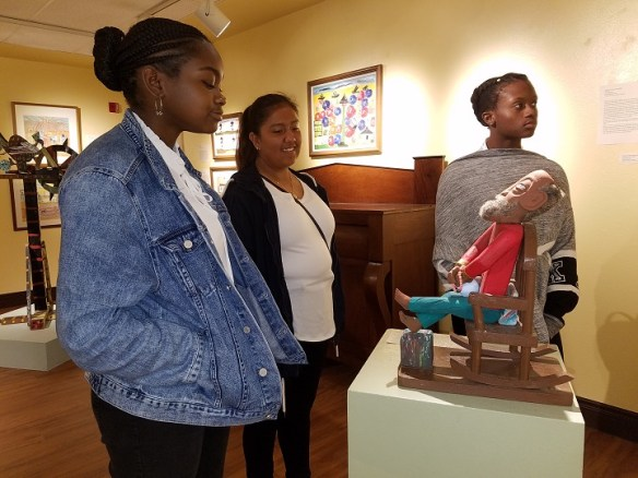 Dickerson Civic Center Youth Ambassador Service Learning at African American Museum Dallas 3