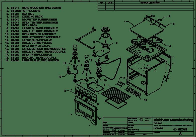 For Stove Schematic Wiring Diagram Diagrams Dickinson Marine Dickinson Marine