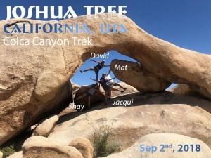 """שי דיקמן Joshua Tree קליפורניה ארה""""ב"""