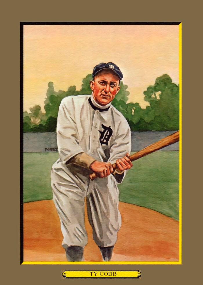 Card 12- Ty Cobb