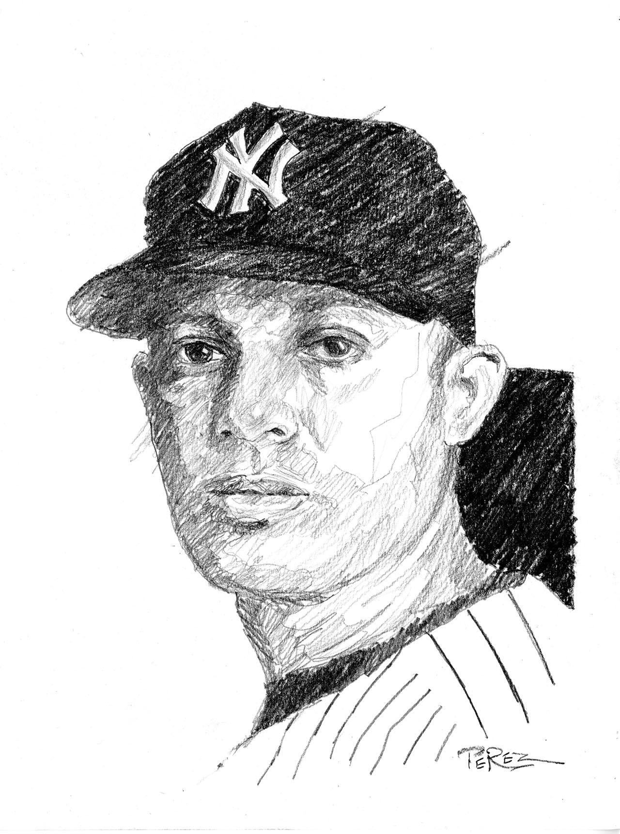 Baseball in Black and White : Dick Perez