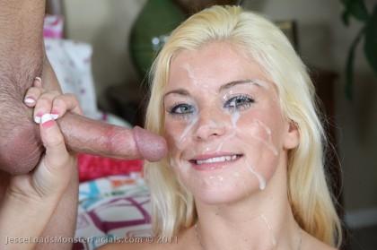 unwanted facial cumshot