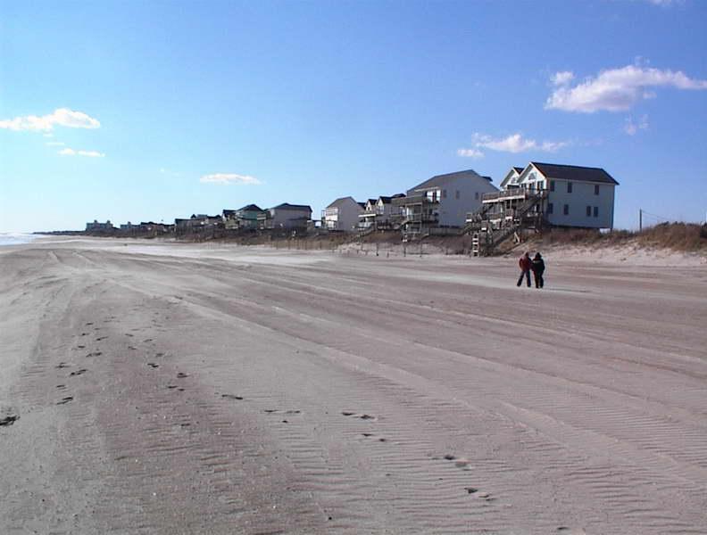 Topsail Island Beach Houses