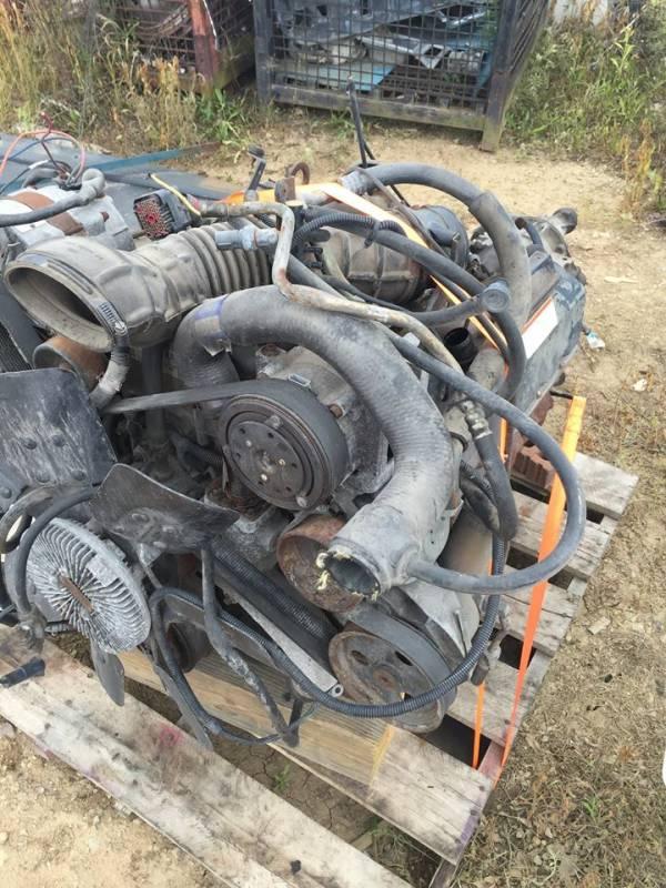 94 95 Ford E 350 Econoline Van 73L Engine Core Parts And