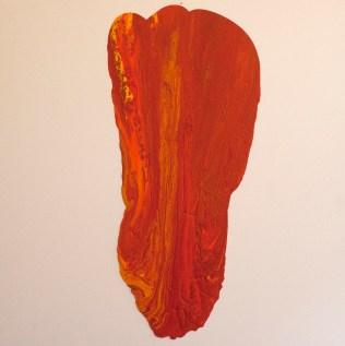 "Contrasts CCCXXI (321), 48""x48"", acrylic on canvas"