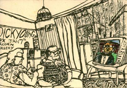 Acorn Gallery exhibition postcard 1992