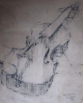 Broken Violin 1962