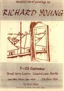 Exhibition Flyer Orrell Arts Centre 1994