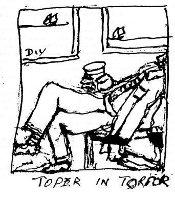 Toper in Torpor cartoon