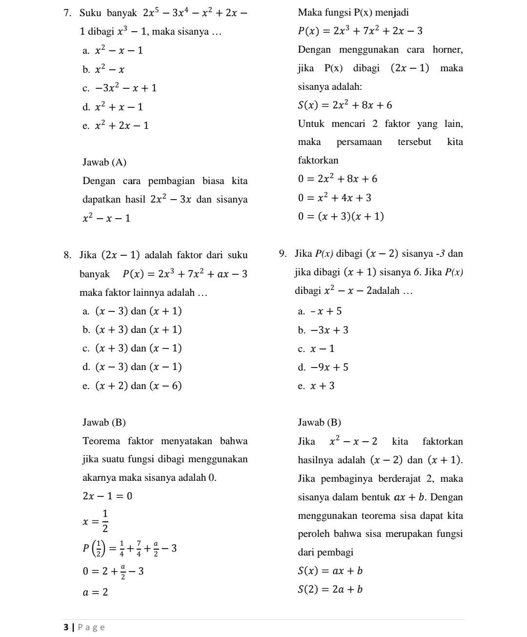 Soal Matematika Kelas 11 Semester 2 Dan Jawabannya : matematika, kelas, semester, jawabannya, Matematika, Wajib, Kelas, Semester, Pembahasannya, Kunci, Dunia